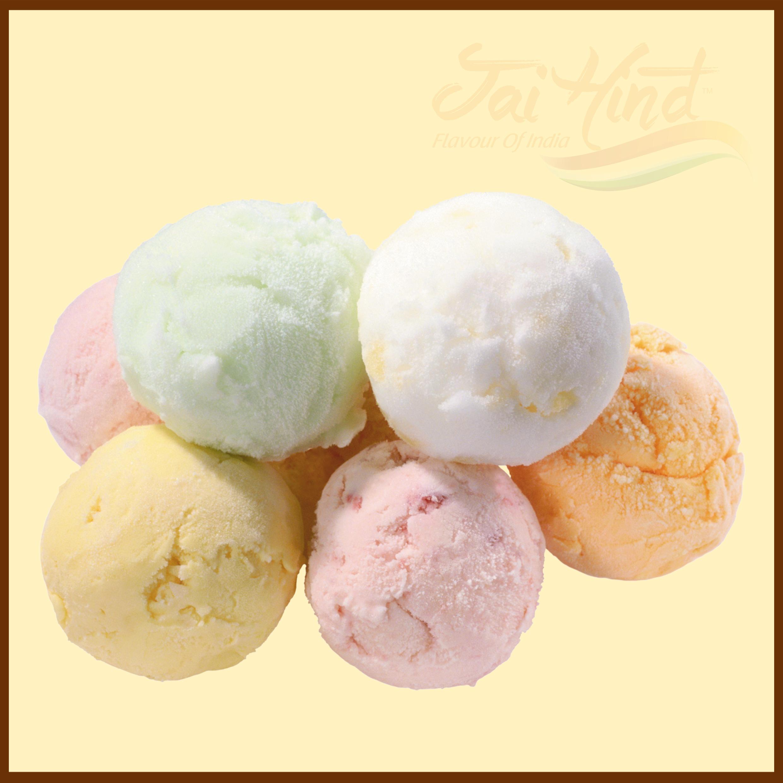 choice of ice creams