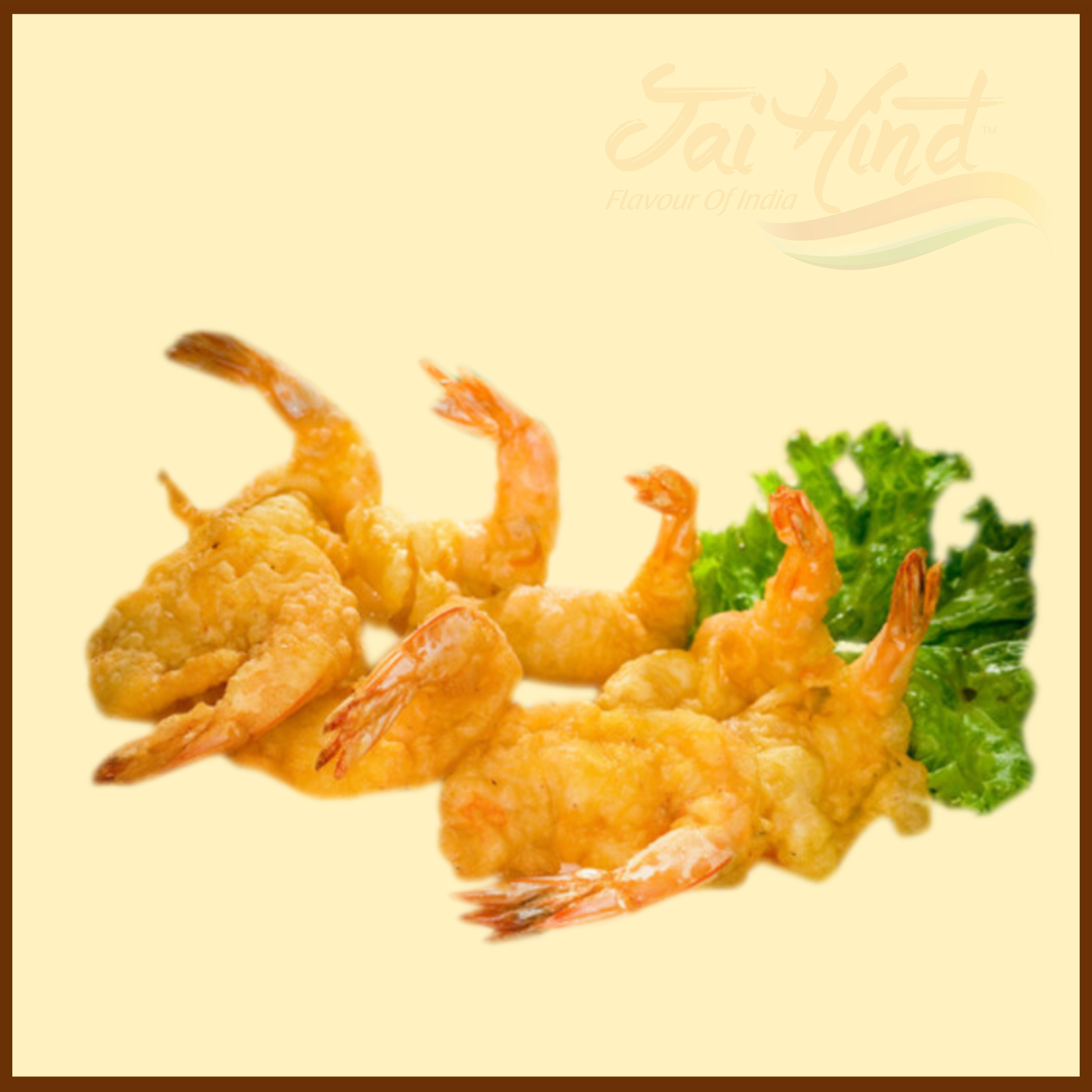 Golden Fried Prawn